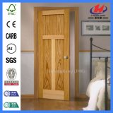 Дверь трасучки строительного материала отлитая в форму HDF твердая деревянная (JHK-011)