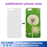 Caisse blanc de téléphone de sublimation pour l'interpréteur de commandes interactif de couverture de portable d'iPhone