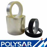 Bande de film polyester acrylique solvant avec deux films
