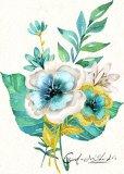 Hermosa Pintura al Óleo hechas a mano para el Hogar Moderno Decoraton