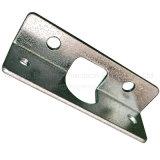 Blech, das Teil des Metallhalters stempelnd verbiegt
