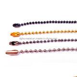 La catena poco costosa di modo del metallo/ha bordato la catena della sfera (HSC0030)