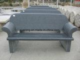 庭の家具のための石造りの大理石の花こう岩の庭のベンチか椅子の美化