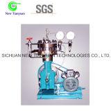 Tipo vertical compresor del diafragma del gas de hidrógeno de H2 con las membranas
