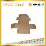 Caja de embalaje del papel de la cara de la imagen doble por la lámina de Brown Kraft