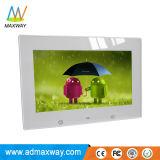 Frame sem fio Android Digital Bluetooth da foto de um WiFi de 10 polegadas com altofalante (MW-1026WDPF)