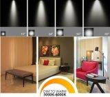 4inch 15W LED encastré plafond anti-reflets de lumière LED Downlight Découpe ronde 125mm