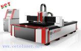Cortadora caliente del laser de la fibra del CNC de la venta con el generador de Ipg para el metal