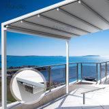 Tente rétractée imperméable à l'eau de Gazebo escamotable avec des éclairages LED