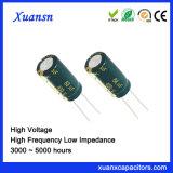 Frequentie van de Condensator van de elektronika de Elektrolytische 400V 68UF Hoge