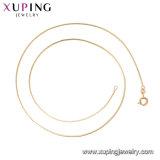 44657 Form-Frauen-Rosen-Gold-Plated Nachahmung CZ-Schmucksache-keramische Halskette oder Kette
