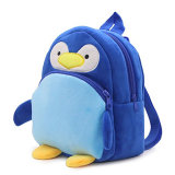 プラシ天のおもちゃ袋のペンギンのランドセル