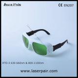 630 - 660nm Od2+ & 800 - стекел предохранения от глаза 1100nm Od5+ от Laserpair