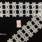 ткань шнурка цветка 7.5cm традиционная милая выровнянная для вспомогательного оборудования одежды уравновешивая Hme896
