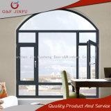 El Aluminio Metal barato ventana con la operación de giro horizontal