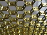 De aço inoxidável de alta qualidade grelha hexagonal de aço