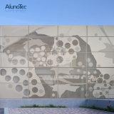 Architektonische gewölbte Metallpanels sind- für Wände ein attraktives