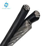 Cavo di alluminio isolato spese generali di alluminio di ABC del cavo 2*10+1*10