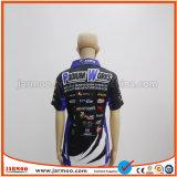 自由なデザインはマラソンの連続したポロシャツを公表する