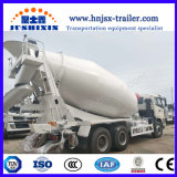 Foton/Shacman 3の車軸コンクリートミキサー車のトラック10立方メートルの具体的な配達用トラック
