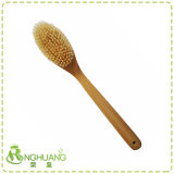 Деревянные и бамбуковые сухой щеткой тела бат щетки с натуральной щетины