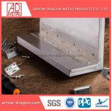 Revêtement en poudre Honeycomb léger en aluminium haute rigidité Panneaux de plafond de couverture de toiture// soffite