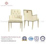 Mobiliario de restaurante conciso con tela sillón (7847)