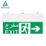 Lumière LED rechargeable avec un contrôle centralisé des enseignes de sortie d'urgence