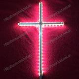 Christelijk Kruisbeeld, Ernstig Dwars, Katholiek Kruisbeeld, Gloeiend Dwars, Lichtgevend Kruis (iO-Ca100)