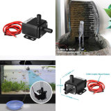 Bluefish OEM DC 12V Irrigation Mini Fountain Decoration Micro Waterfall Amphibious Pumps Flow 220L/H