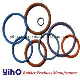 O anel de vedação de borracha de OEM e o anel de vedação de silicone azul