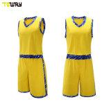Moda Personalizzata Giallo Basketball Modello Di Disegno