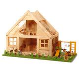 Hölzernes Puppe-Haus