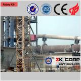 horno rotativo de cal de la línea de producción de cal activo.