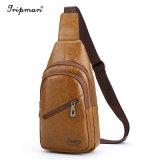 品質保証のジープの盗難防止の止め金の革十字ボディメッセンジャー袋