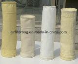 Alta qualidade de poliéster usada amplamente coletores de pó industrial de saco de filtro
