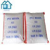 De plastic Hars van pvc van Grondstoffen K57 K66 K68 Sg3