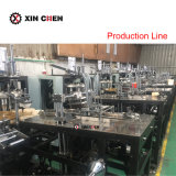 Café de máquina de fabricación de vasos de papel desechable con sistema de ultrasonidos