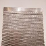0.5mmの穴のステンレス鋼の穴があいた金属板