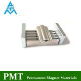 N35h R18XR25X45mm de lado a lado com magneto de neodímio de NdFeB material magnético