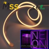 Venda quente DC12V/ 24V faixa de luz LED Neon de silício
