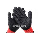 Нейлон с покрытием из латекса рабочие перчатки безопасности сад ручка строителей