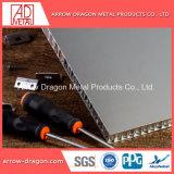Conception personnalisée de l'aluminium panneaux de façade Honeycomb