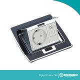 La magia de la placa de resina de Pop-up Piso Rj Caja de salida/piso/caja de toma de piso
