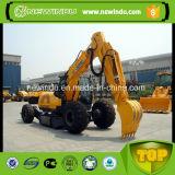 La famosa marca de 15 toneladas de la excavadora de rueda con un martillo xe150W