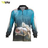 Abbigliamento Sportivo All'Ingrosso Camicie Da Pesca A Manica Lunga Dry Fit