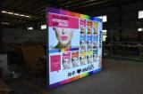 La publicidad del bastidor de aluminio tejido LED Light Box
