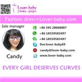 Женщин Леди короткие втулки стороной для печати футболка платье