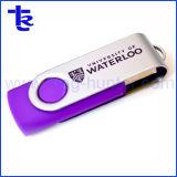 De Aandrijving van de Flits van de Stok USB van de Flits van de Wartel USB van Twister van het metaal