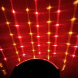 Farbenreiches Disco-Partei-Licht DJ bewirken Basisrecheneinheits-Lichtprojektor des Weihnachtenled